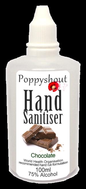 Hand Sanitiser Chocolate 100ml